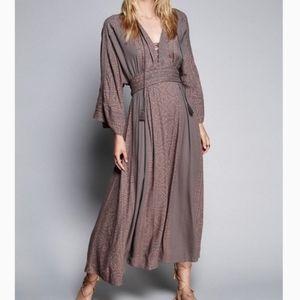 Free People Modern Kimono Maxi Dress 2